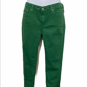 AG Adriano Goldschmied Green Jeans